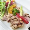 北海道産 日高四元豚ロースと彩り野菜のグリル
