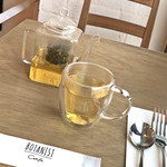 ボタニストカフェ - プレートセットのジャスミン茶