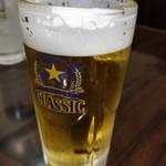 四文屋 - 生ビール 350円