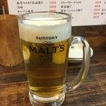 77564619 - とり生ビール