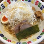 江川亭 - ネギ油麺 (並)