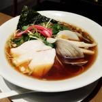 むぎとオリーブ - 料理写真:「蛤SOBA」¥900税別