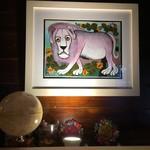 太陽酒場 3sun - アフリカのアート、ティンガティンガも楽しめます!