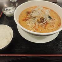 水漫庭-坦々麺(大盛り)+ライス