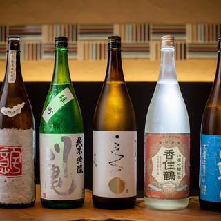 ~多彩な美酒~お料理にそっと寄り添う日本酒で至極の乾杯を。
