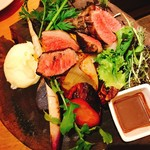 MK Farmers&Grill - みねむら牛炭火焼と野菜のグリル