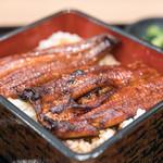 うな濱 - 料理写真:2017.12 浜名湖産鰻のうな重(3,229円)