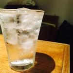 天びん棒 - 麦焼酎ちんぐのソーダ割り(500円)