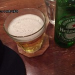 BOWLS cafe - 今回はビール1本だけ