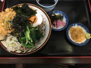 誠や9号店 - 丼もりそば(600円)+ニラ仕様(100円)