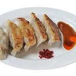 麺や ハレル家 - 黒豚肉餃子
