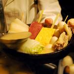 炉ばた屋 - 【期間限定】コラーゲンたっぷり濃厚白湯スープの白いおでん。