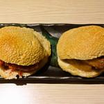 福清菜館 福来園 - 光餅夾(福清光饼夹) とても硬い
