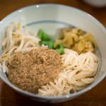 酒とタイ料理 ピッサヌローク - 2017.12 カノムチンナムヤー(ガチャイ入り鯖カレーと素麺)