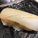 第三春美鮨 - 新烏賊 111g 浜〆・空輸 底曳き網漁 鹿児島県出水