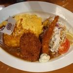 須田町食堂 - 洋食屋こだわりオムカレープレート1,850円