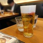 須田町食堂 - スーパードライ490円