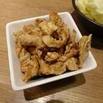 讃岐うどん 伊吹や製麺 -  鶏皮ポン酢302円