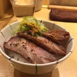 Motenashikuroki - 限定飯 白菜と豚