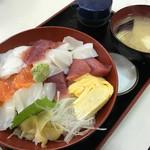 旬鮮厨房三浦や - 海鮮生チラシ 750円