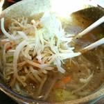 麺屋ぱんどら - 野菜炒め塩