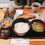 肴や 呉平 - 伴助 赤魚焼定食@900円 トータルとしてバランスもよく、おいしい定食でした。
