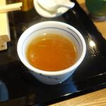 SOBA&SAKE八福寿家 - 蕎麦湯