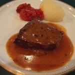 イル・ド・フランス - 牛フィレの粒胡椒ソース
