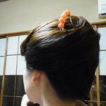 水の登 - 髪飾りもきれいだし