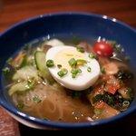 パディーズ - パディーズ 冷麺 夜 韓国冷麺