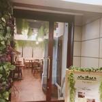 大阪イタリアンバル Tino Salice - ★Tino★の入り口です。店の手前の席は、外から見えにくいので視線が気になる人にはオススメです!