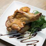 ブルーバードカフェ - 奥州いわい鶏のロースト