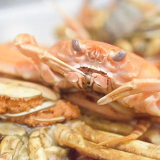 【冬季限定】香箱ガニのパスタ【日本海漁船直送の鮮魚料理】