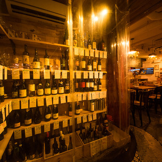 ワインに泡盛、自家製ドリンクが人気!
