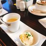 77584125 - スープ&ポテトサラダ