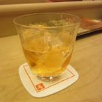 すし善 - 梅酒ロック 760円