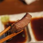 kandayakinikuorenoniku - 肉の厚さ、細やかな繊維