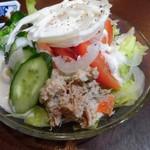 信濃屋 - 野菜サラダ