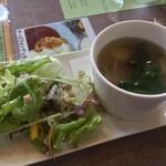 卵's工房 - 地野菜サラダ・スープ