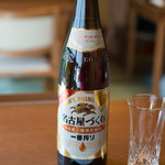 あつた蓬莱軒 - 2017.12 ビール大瓶 一番搾り 名古屋づくり(850円)