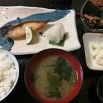 酒房肴町 - 今日のランチ ひらすの西京焼き? 730円