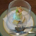 バルカ - 安納芋のチーズケーキ