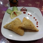 パキスタン・アラビアン・インド料理 デラ - マトンサモサ
