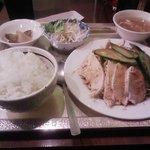 7759852 - 棒々鶏定食(500円)