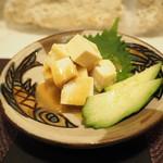 南国食堂 ちむどんどん - 島豆腐の味噌漬け