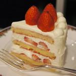 77591868 - 苺のショートケーキ ブラン