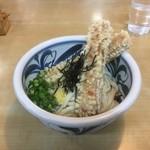 桃太郎館 - 料理写真:ちくわ天ぶっかけ冷470円