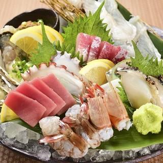 糸島の元漁師が目利きし直送した鮮魚をご提供