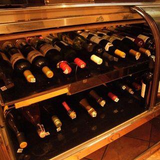 赤・白・泡☆ワイン好きにはたまらない充実した品揃え♪