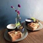 77595187 - トーストとスープ 850円(税込)